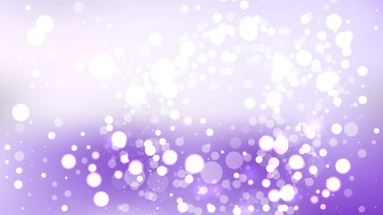 Purple and White Blurred Lights Background