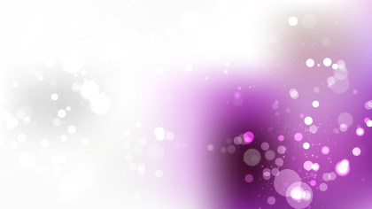 Purple and White Defocused Background