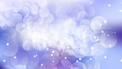 Purple and White Blurred Lights Background Design