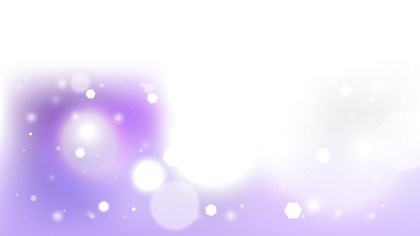 Purple and White Bokeh Background Vector Graphic