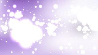 Purple and White Bokeh Defocused Lights Background Vector Image