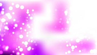 Abstract Purple and White Bokeh Defocused Lights Background Vector Image