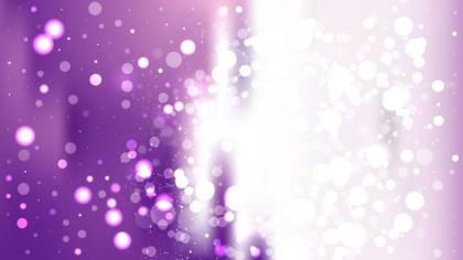 Purple and White Blurred Bokeh Background
