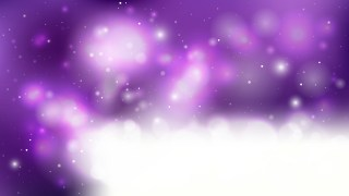 Purple and White Bokeh Background
