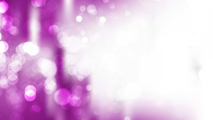 Abstract Purple and White Defocused Lights Background Design