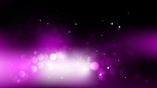 Abstract Purple Black and White Bokeh Background