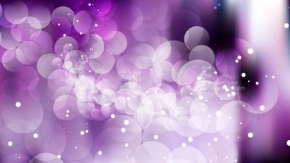 Purple Black and White Blurred Bokeh Background Vector Illustration