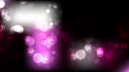 Abstract Purple Black and White Blur Lights Background