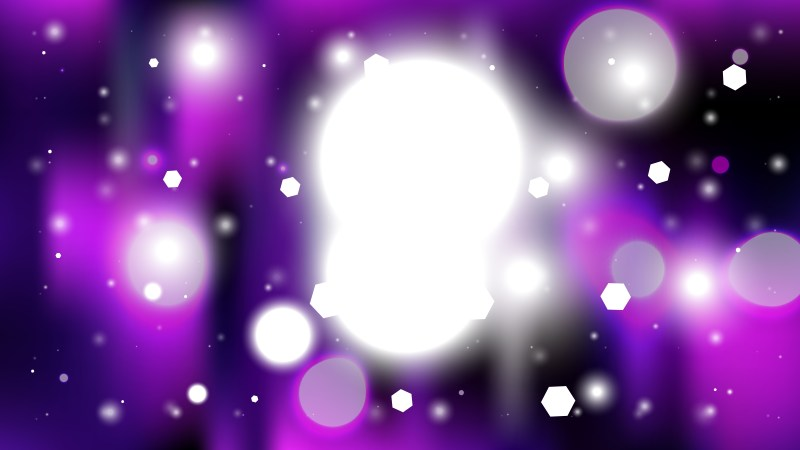 Abstract Purple Black and White Blurred Bokeh Background Vector Image