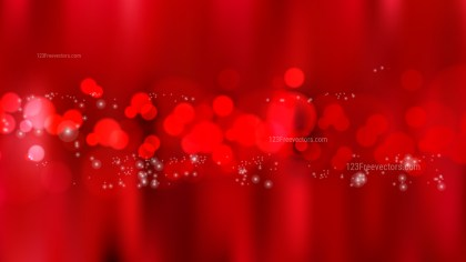Abstract Red Defocused Background Vector Illustration