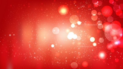 Abstract Red Defocused Lights Background Vector