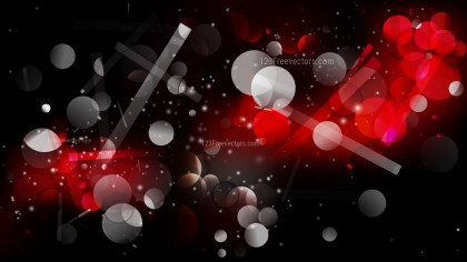 Abstract Red and Black Blur Lights Background