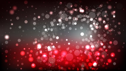 Red and Black Blurred Bokeh Background Illustration