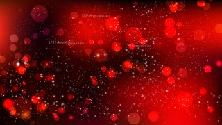 Abstract Red and Black Blurry Lights Background