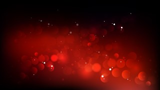 Red and Black Blurred Lights Background