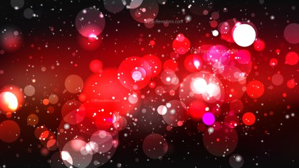 Red and Black Blurry Lights Background Vector Image