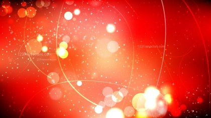 Abstract Red and Black Blurred Bokeh Background