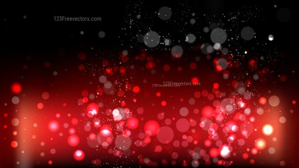 Red and Black Bokeh Background