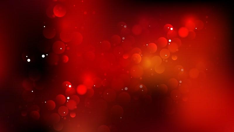 Red and Black Defocused Lights Background