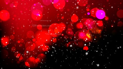 Abstract Red and Black Bokeh Background
