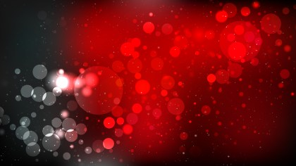 Red and Black Blurry Lights Background Illustration