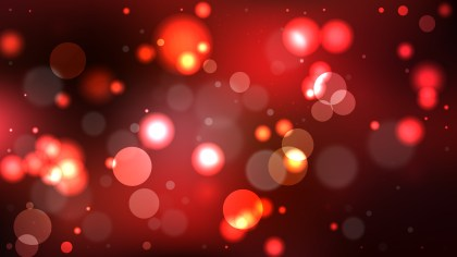 Red and Black Bokeh Defocused Lights Background Image