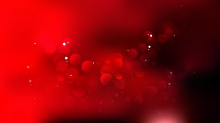 Red and Black Bokeh Lights Background Vector Graphic