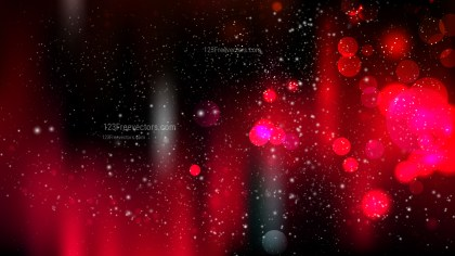 Red and Black Defocused Background Vector Image