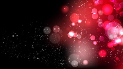 Red and Black Lights Background Vector Illustration