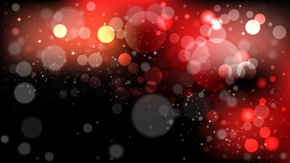 Red and Black Defocused Background