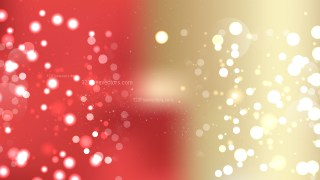 Abstract Red and Gold Bokeh Defocused Lights Background