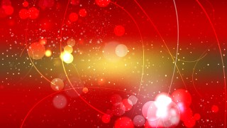 Abstract Red and Gold Bokeh Background Vector