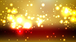 Red and Gold Blur Lights Background