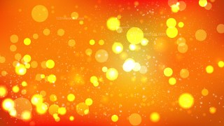 Abstract Red and Orange Lights Background Illustration