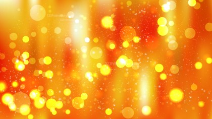 Red and Orange Blurred Bokeh Background Vector Art
