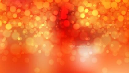 Red and Orange Defocused Background Vector Image