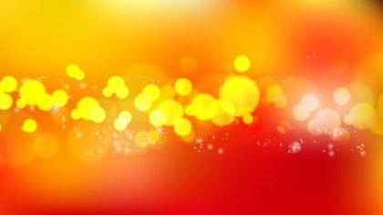 Abstract Red and Orange Defocused Background Vector Image