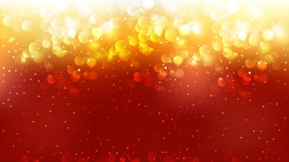 Abstract Red and Orange Blurred Lights Background Illustrator
