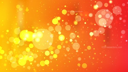 Abstract Red and Orange Blur Lights Background Illustrator