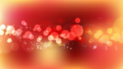 Abstract Red and Orange Lights Background Vector Image