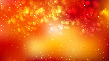 Red and Orange Bokeh Background Design