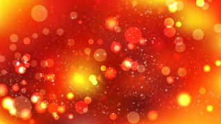Red and Orange Bokeh Background