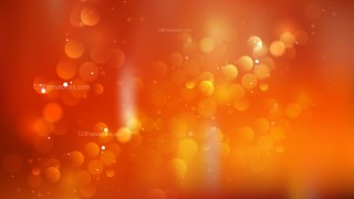 Red and Orange Bokeh Background Illustrator