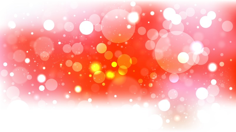 Red and White Lights Background Vector Art