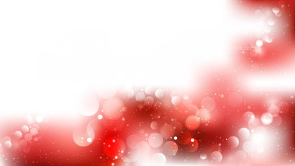 Abstract Red and White Blurry Lights Background