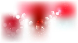 Red and White Defocused Lights Background