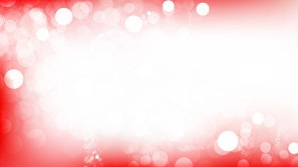 Red and White Blur Lights Background Vector Graphic