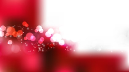 Red and White Blurry Lights Background Image