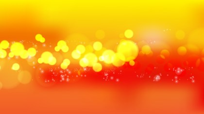 Red and Yellow Defocused Lights Background Illustrator