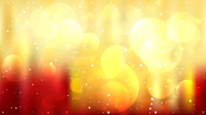 Abstract Red and Yellow Lights Background